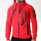 /achat-sweats-zippes-capuche/geographical-norway-sweat-zippe-capuche-gantaga-rouge-chine-145806.html