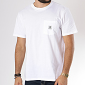 /achat-t-shirts-poche/element-tee-shirt-poche-basic-pocket-label-blanc-146050.html