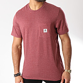 /achat-t-shirts-poche/element-tee-shirt-poche-basic-pocket-label-bordeaux-chine-146051.html