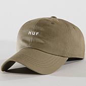/achat-casquettes-de-baseball/huf-casquette-original-logo-vert-kaki-145971.html