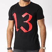 /achat-t-shirts/13-block-tee-shirt-logo-noir-rouge-146232.html
