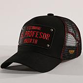/achat-trucker/hechbone-casquette-trucker-plaque-el-profesor-noir-rouge-146185.html