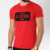 /achat-t-shirts/hechbone-tee-shirt-el-patron-rouge-146195.html