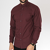 /achat-chemises-manches-longues/jack-and-jones-chemise-manches-longues-blackpool-bordeaux-146328.html
