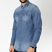 /achat-chemises-manches-longues/jack-and-jones-chemsie-manches-longues-jean-sheridan-bleu-denim-146353.html