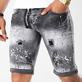 /achat-shorts-jean/john-h-short-jean-avec-zip-9710-gris-146453.html