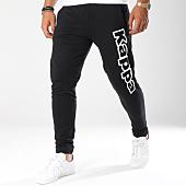 /achat-pantalons-joggings/kappa-pantalon-jogging-logo-cristiano-noir-blanc-146488.html