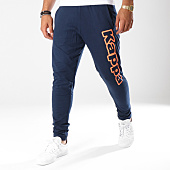 /achat-pantalons-joggings/kappa-pantalon-jogging-logo-cristiano-bleu-marine-orange-fluo-146491.html