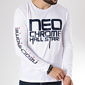 /achat-t-shirts-manches-longues/neochrome-tee-shirt-manches-longues-hall-stars-blanc-146520.html