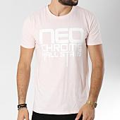 /achat-t-shirts/neochrome-tee-shirt-hall-stars-rose-pale-146524.html
