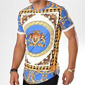 /achat-t-shirts-longs-oversize/uniplay-tee-shirt-oversize-t366-bleu-clair-blanc-renaissance-146685.html