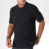 /achat-polos-manches-courtes/calvin-klein-polo-manches-courtes-back-institutional-8018-noir-146781.html
