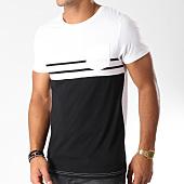 /achat-t-shirts-poche/lbo-tee-shirt-poche-bicolore-raye-478-noir-blanc-146793.html