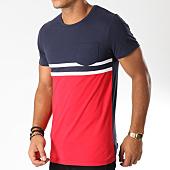 /achat-t-shirts-poche/lbo-tee-shirt-poche-tricolore-raye-488-bleu-blanc-rouge-146796.html