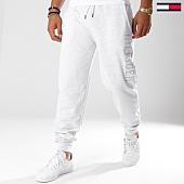 /achat-pantalons-joggings/tommy-hilfiger-jeans-pantalon-jogging-um0um00568-gris-chine-146737.html