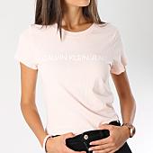 /achat-t-shirts/calvin-klein-tee-shirt-femme-institutional-logo-7940-rose-146817.html