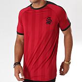 /achat-t-shirts/sinners-attire-tee-shirt-de-sport-retro-cali-640-bordeaux-noir-146826.html