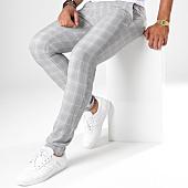 /achat-pantalons-carreaux/mackten-pantalon-a-carreaux-28010-gris-details-beige-146955.html