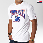 /achat-t-shirts/tommy-hilfiger-jeans-tee-shirt-collegiate-5129-blanc-147000.html