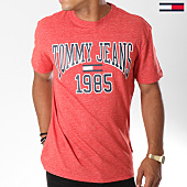 /achat-t-shirts/tommy-hilfiger-jeans-tee-shirt-collegiate-5129-rouge-chine-147001.html