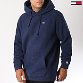 /achat-sweats-capuche/tommy-hilfiger-jeans-sweat-capuche-classic-polar-5150-bleu-marine-147002.html