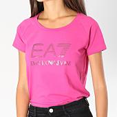 /achat-t-shirts/ea7-tee-shirt-femme-6ztt81-tj12z-magenta-147149.html