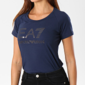 /achat-t-shirts/ea7-tee-shirt-femme-6ztt81-tj12z-bleu-marine-147150.html