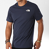 /achat-t-shirts/the-north-face-tee-shirt-red-box-bleu-marine-147071.html