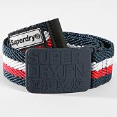 /achat-ceintures/superdry-ceinture-superdid-m92000mr-bleu-marine-rouge-blanc-147290.html