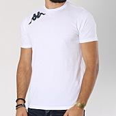 /achat-t-shirts/kappa-tee-shirt-logo-umberto-blanc-bleu-marine-147418.html