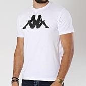 /achat-t-shirts/kappa-tee-shirt-logo-estesso-blanc-noir-147421.html