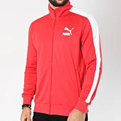 /achat-vestes/puma-veste-zippee-classic-t7-576312-rouge-blanc-147384.html