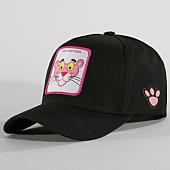 /achat-casquettes-de-baseball/la-panthere-rose-casquette-pink-panther-noir-rose-147482.html
