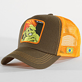 /achat-trucker/street-fighter-casquette-trucker-blanka-vert-kaki-orange-147484.html