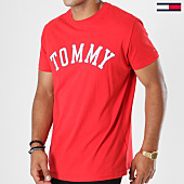 /achat-t-shirts/tommy-hilfiger-jeans-tee-shirt-tommy-5110-rouge-147524.html