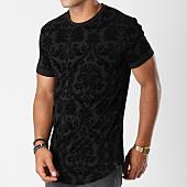 /achat-t-shirts-longs-oversize/uniplay-tee-shirt-oversize-uy232-noir-floral-147556.html