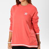 /achat-sweats-col-rond-crewneck/adidas-sweat-crewneck-femme-active-icons-dh2976-corail-147847.html