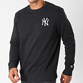 /achat-sweats-col-rond-crewneck/new-era-sweat-crewneck-new-york-yankees-essential-11604140-noir-147886.html