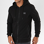 /achat-sweats-zippes-capuche/antony-morato-sweat-zippe-capuche-mmfl00412-noir-148015.html