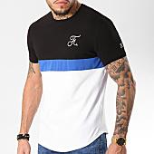 /achat-t-shirts-longs-oversize/final-club-tee-shirt-premium-fit-tricolore-avec-broderie-090-noir-blanc-bleu-148054.html