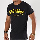 /achat-t-shirts/hechbone-tee-shirt-letter-noir-148156.html