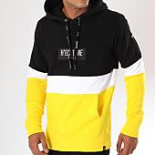 /achat-sweats-capuche/hechbone-sweat-capuche-dyl-noir-blanc-jaune-148164.html