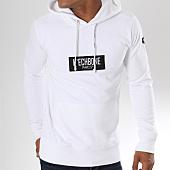 /achat-sweats-capuche/hechbone-sweat-capuche-patch-blanc-148173.html