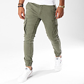 /achat-pantalons-cargo/jack-and-jones-pantalon-cargo-paul-flake-vert-kaki-148187.html