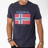 /achat-t-shirts/napapijri-tee-shirt-sadrin-bleu-marine-148244.html