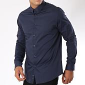 /achat-chemises-manches-longues/celio-chemise-manches-longues-masantal-bleu-marine-148306.html