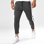 /achat-pantalons-carreaux/frilivin-pantalon-avec-bandes-1393-gris-anthracite-148359.html