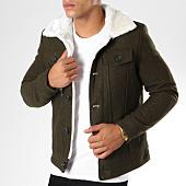 /achat-vestes/frilivin-veste-col-mouton-qq511-vert-kaki-148393.html