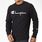/achat-sweats-col-rond-crewneck/champion-sweat-crewneck-212576-noir-148559.html