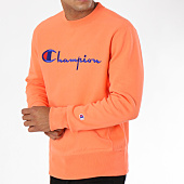 /achat-sweats-col-rond-crewneck/champion-sweat-crewneck-212576-corail-148589.html